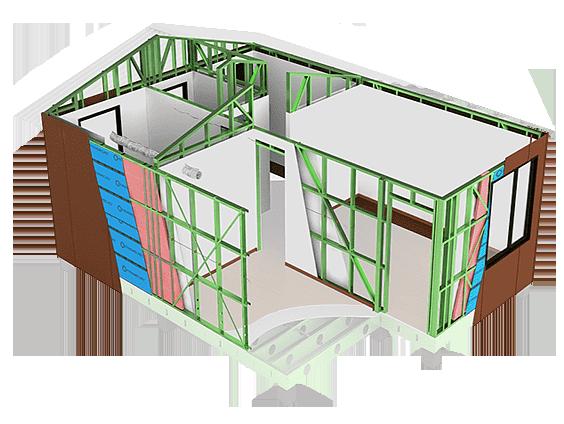 çelik proje örnek ev